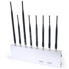 Мультчастотный подавитель Аллигатор 30 +4G LTE+рации